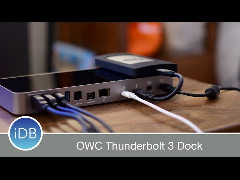 OWC Thunderbolt 3 Docking Station has Tons of I/O Including a SD Card Reader