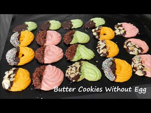 How to make homemade cookies without eggs