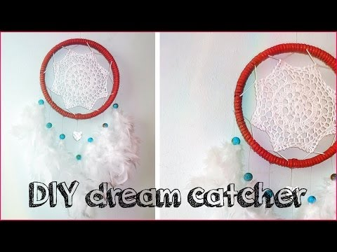 DIY ROOM DECOR ❤ Crochet DREAM CATCHER