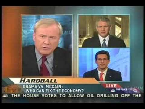Eric Cantor lies about Obama; can't defend Bush