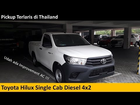 Toyota Hilux Diesel Truck >> Toyota Hilux Single Cab 2 5 Diesel Review Indonesia