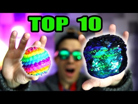 Thumbnail: TOP 10 FIDGET TOYS THAT ARE NOT SPINNERS (Review and Unboxing)