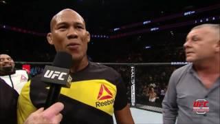 UFC 208: Entrevista no octógono com Ronaldo Jacaré