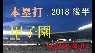 球 野太郎 2018 後半 セントラル リーグ ホームラン 自身撮影分のみです...
