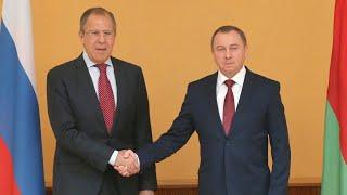 Пресс-конференция глав МИД РФ и Белоруссии. Полное видео