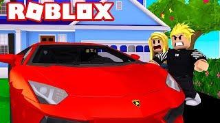 ZŁODZIEJ UKRADŁ NAM AUTO!!! | ROBLOX [BLOXBURG #2]