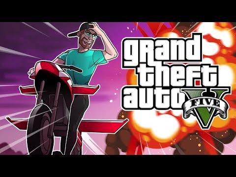 GTA 5 GUNRUNNING DLC $4,000,000 ROCKET BIKE INSURANCE! (GTA 5 Online DLC)