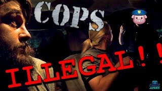 Harassed  By Cop While Dumpster Diving For Food