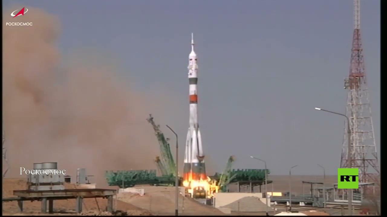 إطلاق المركبة المأهولة -سويوز- إلى المحطة الفضائية احتفاء بالذكرى الـ 60 لتحليق غاغارين  - 12:58-2021 / 4 / 9