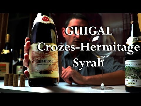 E. Guigal Crozes-Hermitage Red - Perfect Intro to Northern-Rhône Syrah Wines - click image for video