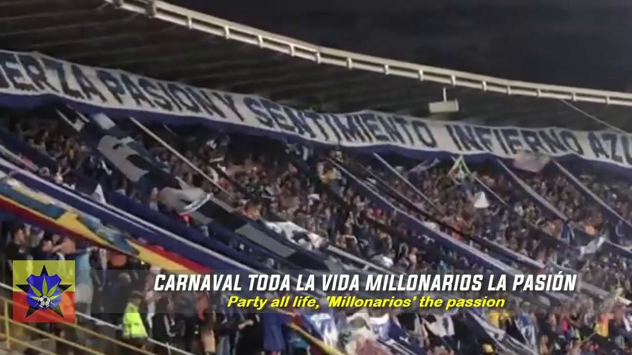 LETRA   CARVANAL TODA LA VIDA , MILLONARIOS LA PASIÓN HD