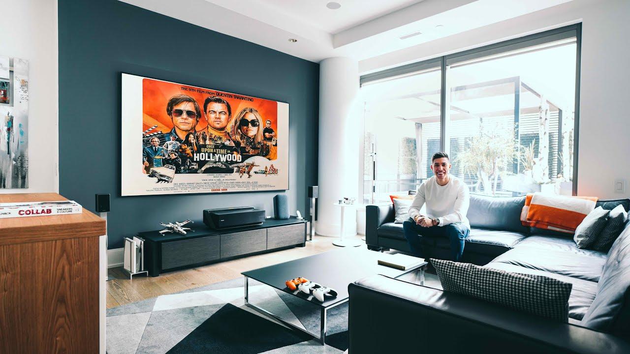 My MODERN TECH Living Room Tech Setup Tour - 2020 EDITION