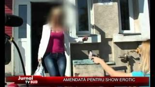 AMENDATA PENTRU SHOW EROTIC