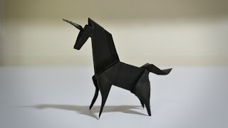 Origami: Unicorn (Jo Nakashima) - Instructions in English (BR)