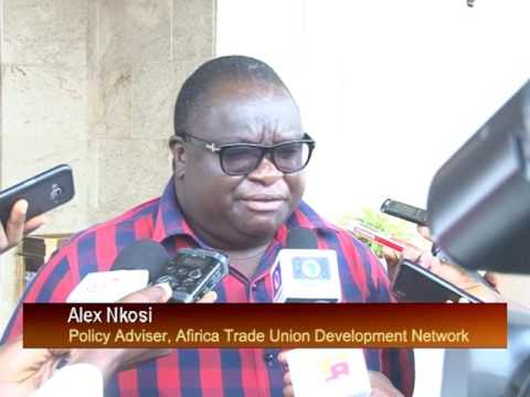 AFRICA TRADE UNION DEVELOPMENT NETWORK MEETING