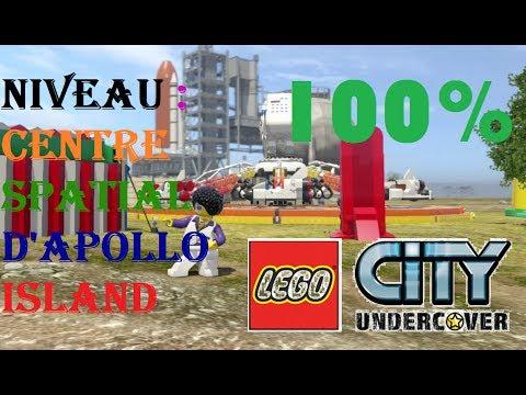 LEGO CITY UNDERCOVER 100% NIVEAU 6  Centre Spatial d'Apollo Island