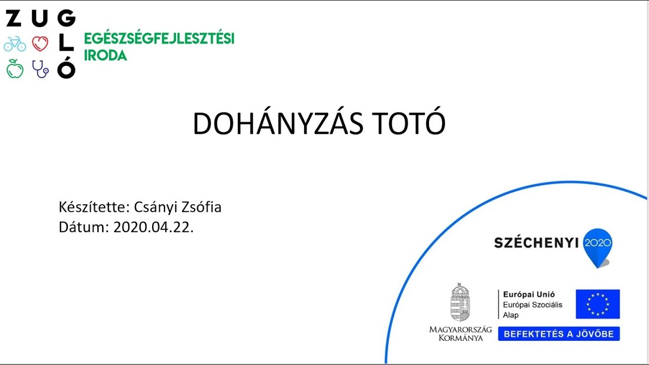 Kód a dohányzásról Poltavaban. Tartalomjegyzék