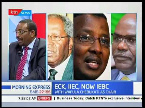 Kipruto Arap Kirwa: IEBC commissioners got into office with courtesy of certain politicians