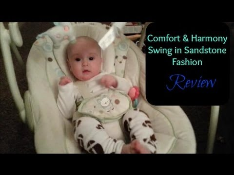 522c26bd6 Comfort Harmony Portable Baby Swing Review - YouTube