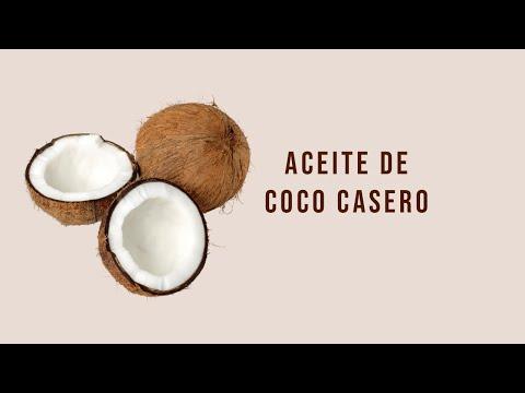 CÓMO HACER ACEITE DE COCO CASERO ♥ Anny Dalia