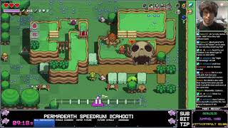 Cadence of Hyrule - Permadeath Story Speedrun - 30:59