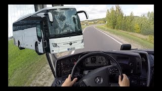 2018 Mercedes BUS DRIVE POV (Highway Drive) PART 1