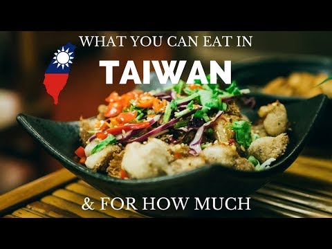TAIWANESE STREET FOOD TOUR & PRICE 💰🍴Guide to the Food in Taiwan - street food taiwan & restaurants
