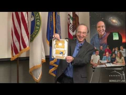 Saul Perlmutter Nobel Prize Press Conference at Berkeley Lab ...