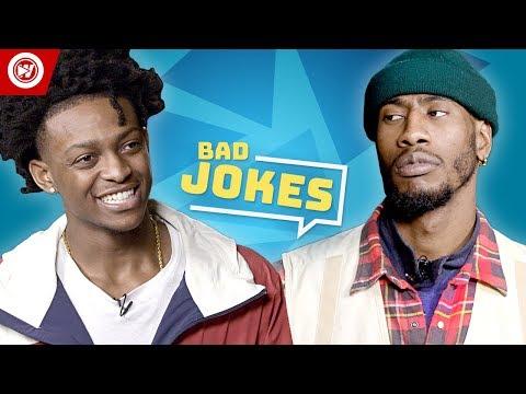 Bad Joke Telling | De'Aaron Fox vs. Iman Shumpert