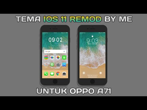 Full Download] Tema Ios 11 Remod Untuk Oppo A71 New Theme