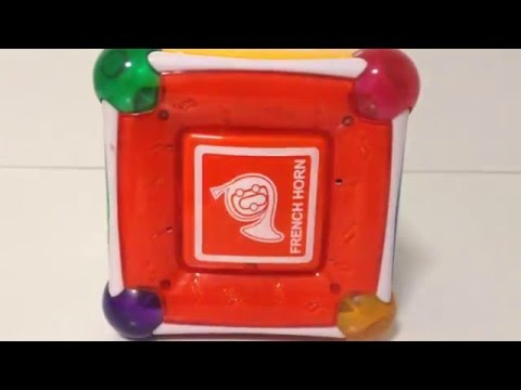 Munchkin Mozart Magic Cube Toy with Lights and Sounds Classical Music
