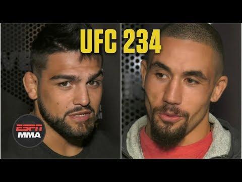 Kelvin Gastelum, Robert Whittaker preview title fight | UFC 234 | ESPN MMA