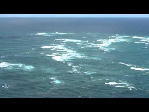 Cape Reinga - oceans meeting