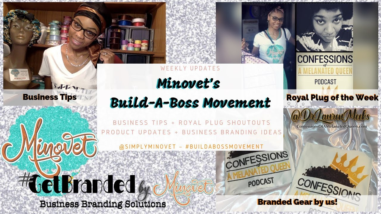 Business Tips (free promo) & New Products from Minovet.com and the #BuildABossMovement