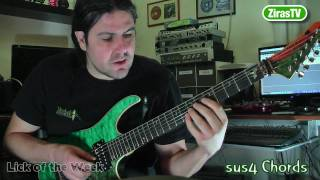 sus4 chords (and how to use them) | Lick of the Week 73