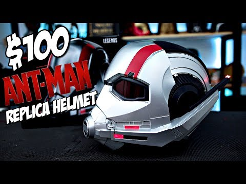 $100 Ant-Man Replica Helmet Review | Hasbro Toys Marvel Legends Unboxing