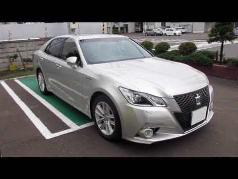 Toyota Crown 2018 Interior >> 2013 New TOYOTA CROWN Athlete HYBRID - Exterior & Interior - YouTube