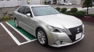 2013 New TOYOTA CROWN Athlete HYBRID - Exterior & Interior