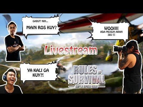 PING BERSAHABATLAH !!! - Rules of Survival Indonesia