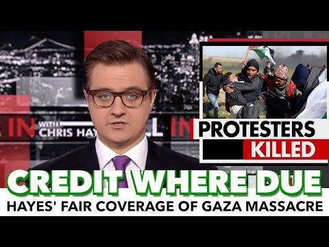Chris Hayes Gives Gaza Massacre Fair Coverage On MSNBC