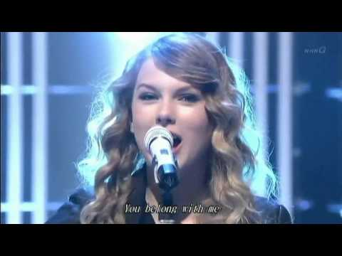 【HD】Taylor Swift - You belong with me Tokyo Live2010