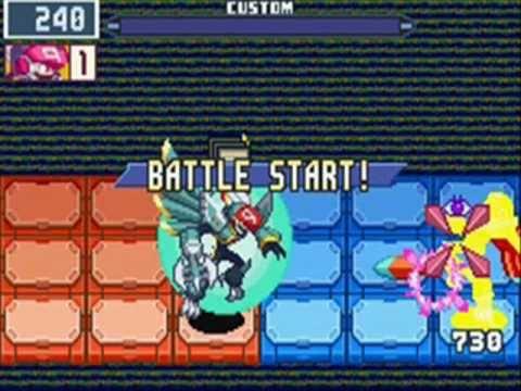MegaMan Battle Network 6 Falzar Bosses vs HMNR Codes