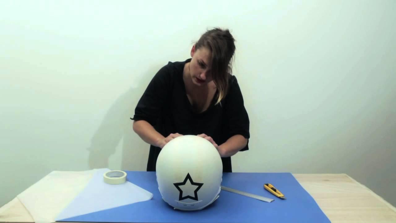 Personaliza tu casco con pintura en spray pintyplus youtube - Como pintar bien una pared ...