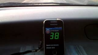 NetConsulate Speed Limit Alert demo wiith SpeechSynthesis type audio Alarm
