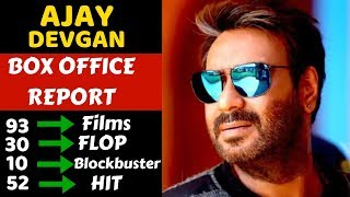 Ajay Devgan Career Box Office Collection Analysis Hit, Blockbuster and Flop Movies List