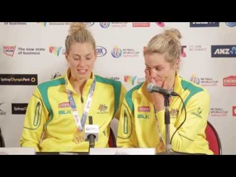 Post Gold Medal Match Press Conference - Julie Corletto