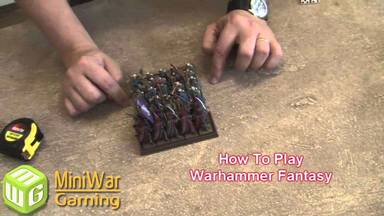 How to Play Warhammer Fantasy Part 2