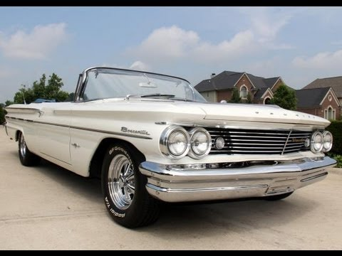 Pontiac Bonneville Convertible Classic Muscle Car For Sale In