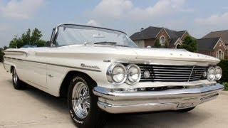 1960 Pontiac Bonneville Convertible Classic Muscle Car for Sale in MI Vanguard Motor Sales