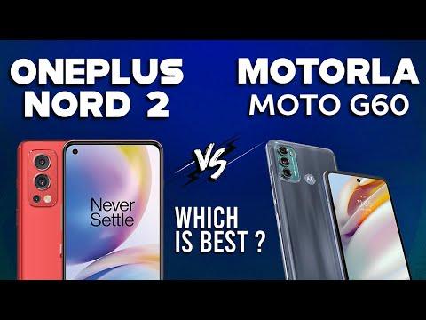 OnePlus Nord 2 vs Motorola Moto G60